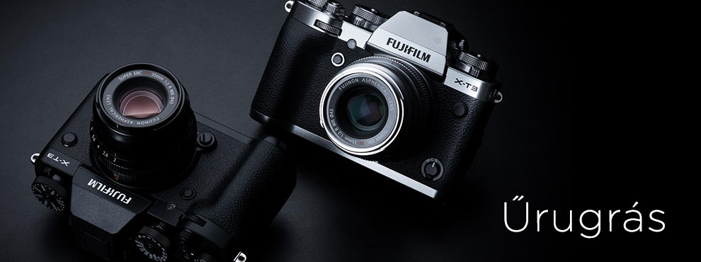 Fujifilm X-T3 - űrugrás