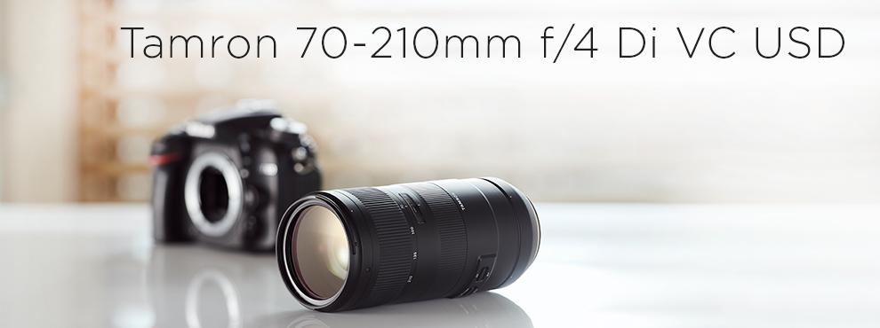 Itt az új Tamron F/4 tele zoom objektív
