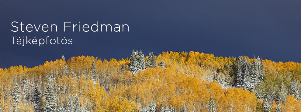 Steven Friedman tájkép fotós