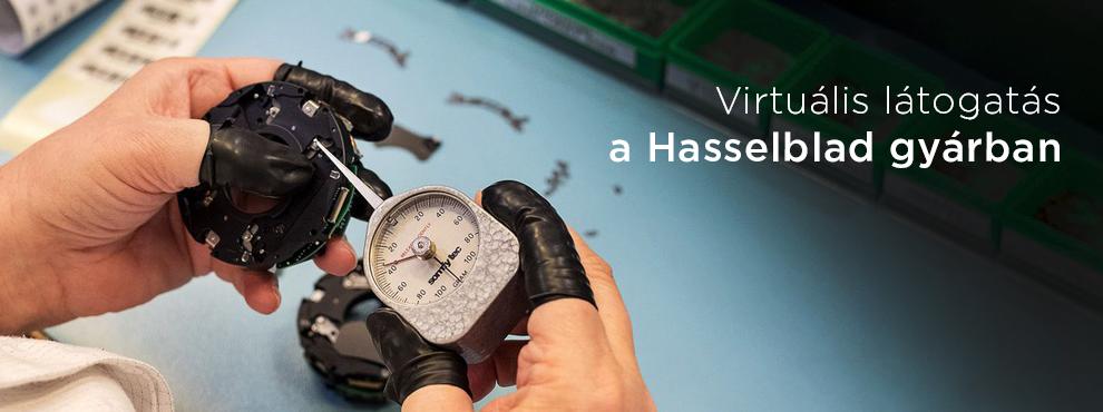 Virtuális látogatás a Hasselblad gyárban