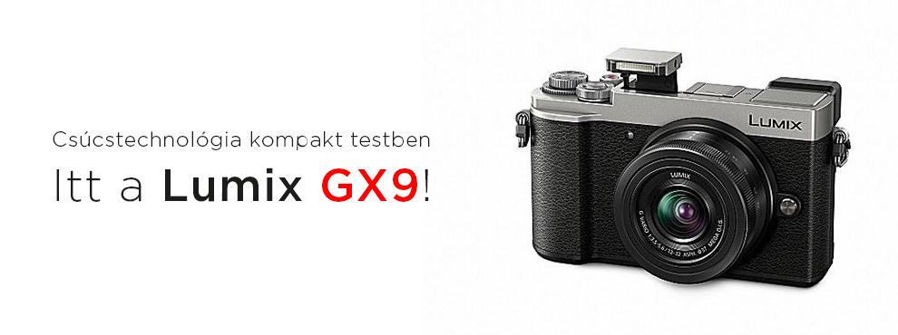 Csúcstechnológia kompakt testben: itt a Lumix GX9!