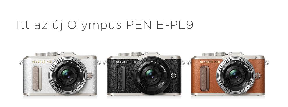 Itt az új Olympus PEN E-PL9