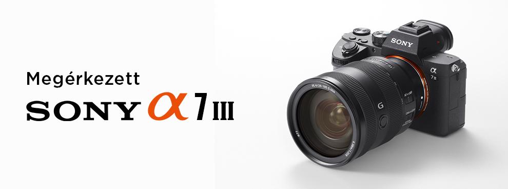 Hivatalosan is bejelentették a Sony a7III-t
