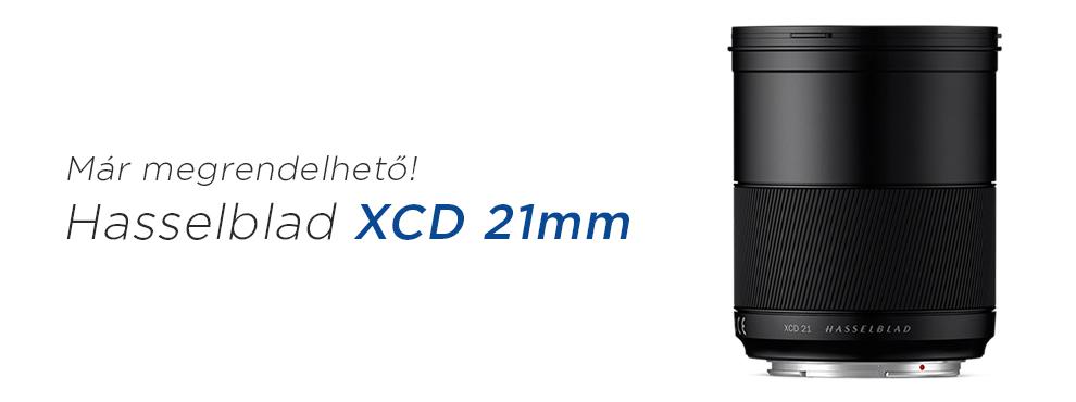 Már rendelhető az új Hasselblad XCD 21mm objektív