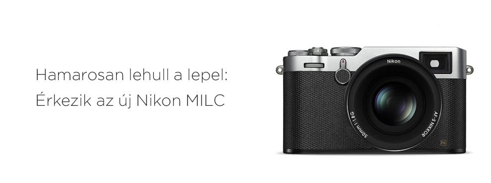 Már csak egy hét van hátra az új Nikon MILC bejelentéséig!