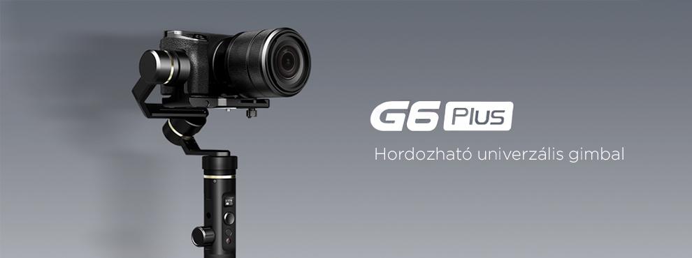 Új gimbal a Feiyu Tech-től: G6 Plus
