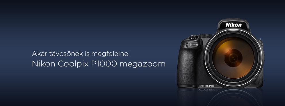 Bemutatkozik a Nikon Coolpix P1000 megazoom