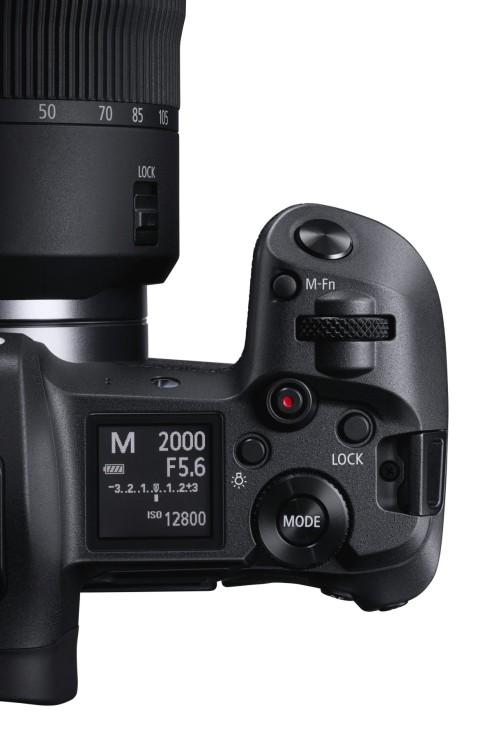 Canon EOS R top