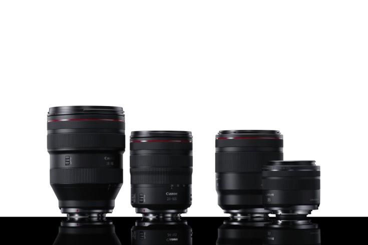 Canon EOS RF lenses