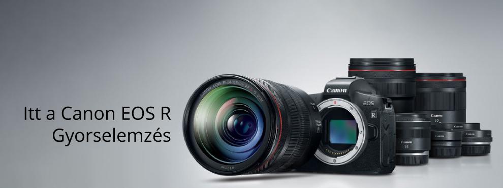 Itt a Canon EOS R - gyorselemzés