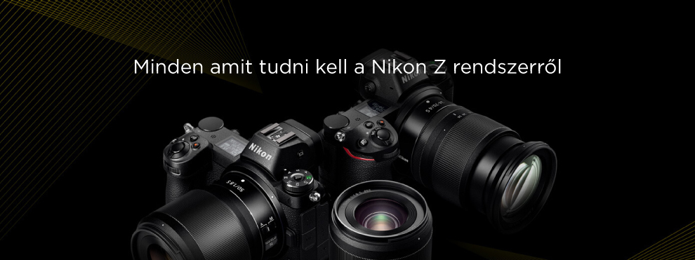 Minden amit tudni kell a Nikon Z rendszerről