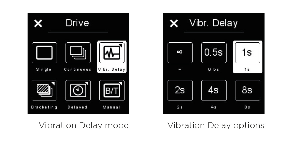 phase one ékszerfotózás tippek vibration delay