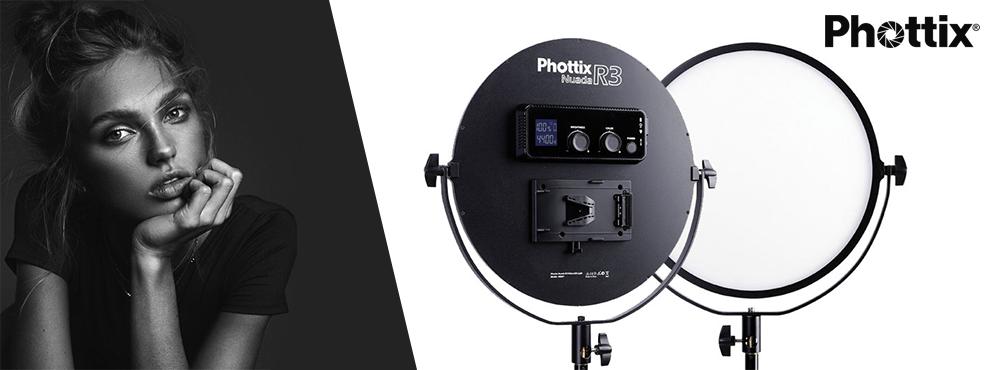 Raktárról elérhető a Phottix Nuada R3 VLED Video LED