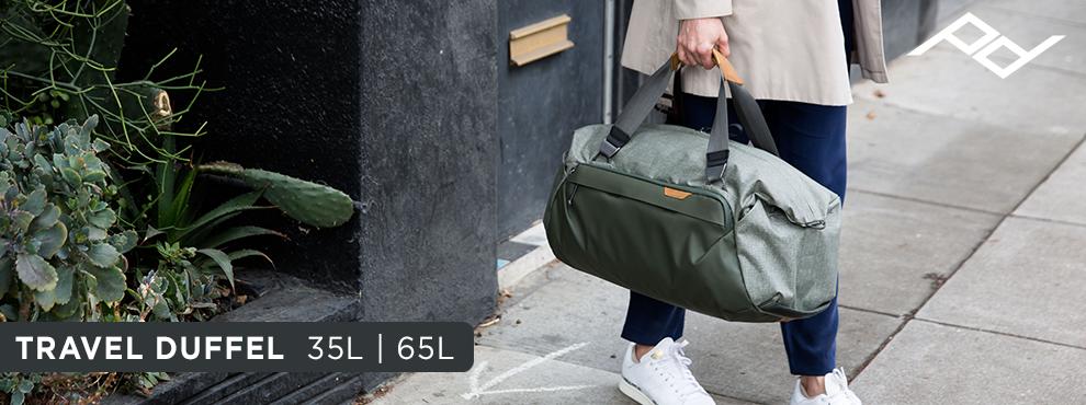 A Peak Design bejelentette új termékét, a Travel Duffel táskát