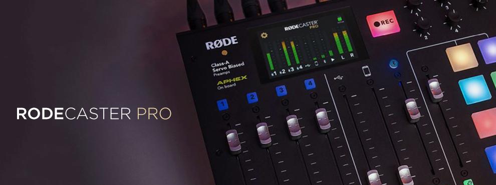 RØDECaster Pro és PodMic-A kreatív generáció legújabb eszközei
