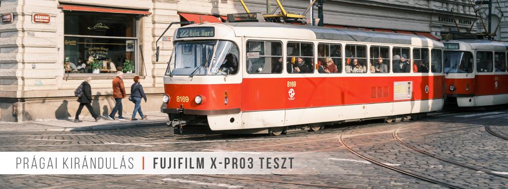 Prágai kirándulás Fujifilm X-Pro3 teszteléssel