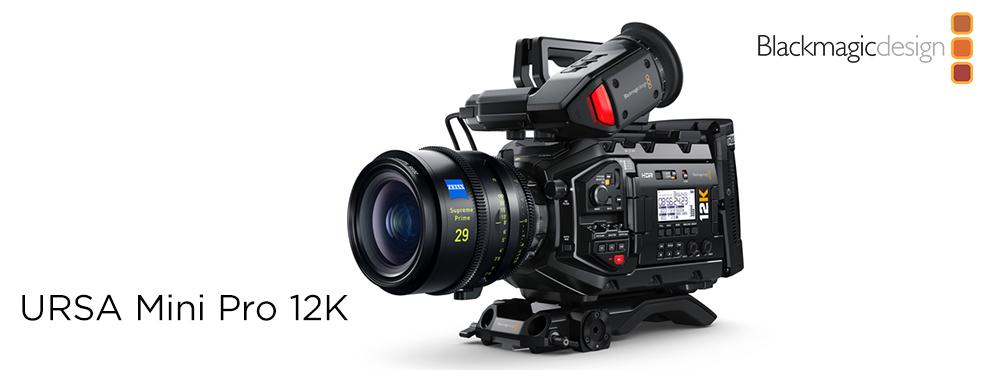 12K felbontással érkezik az új Blackmagic Ursa Mini Pro