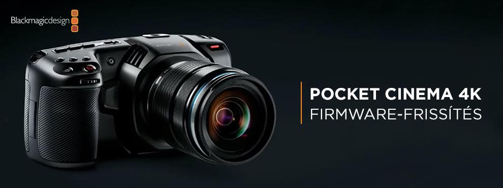 Tartalmas frissítés jön a Blackmagic PCC 4K-hoz