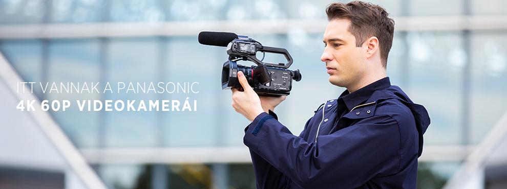 Itt vannak a Panasonic új videokamerái