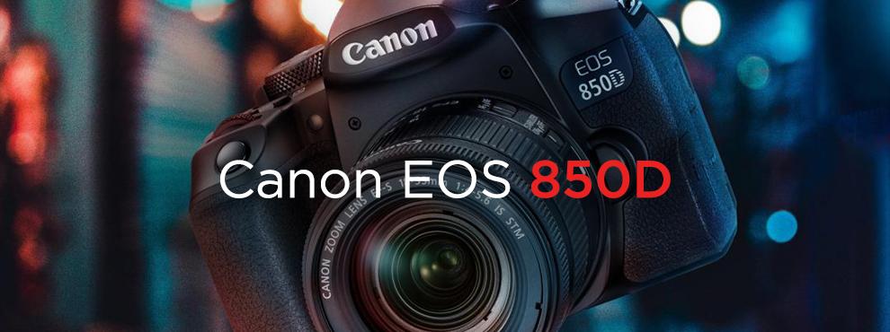 Canon EOS 850D - izmos belépő