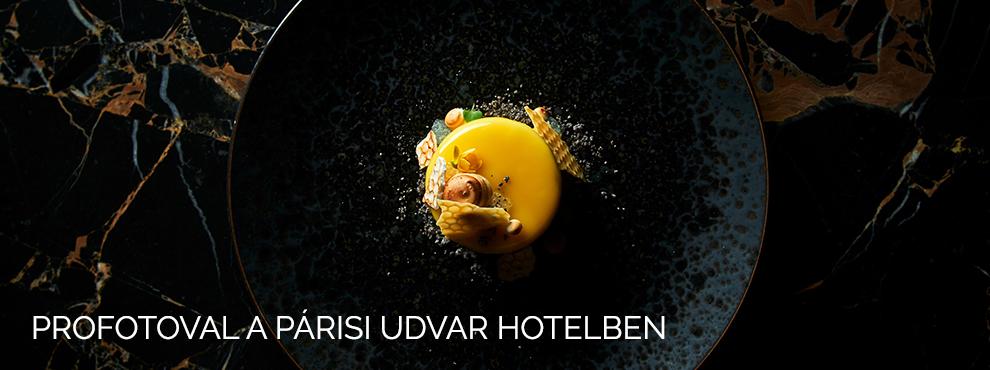 Horváth Ádám-Profotoval a Párisi Udvar Hotelben
