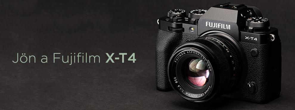 Szenzorstabilizálással jön a Fujifilm X-T4