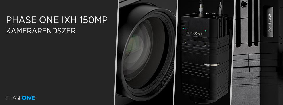 A Phase One bejelentette az iXH 150MP kamerarendszert