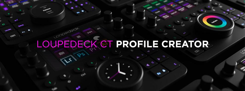 Egyedi profilok Loupedeck CT-hez