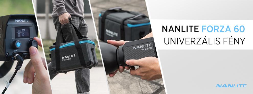 Nanlite Forza 60 - univerzális fény