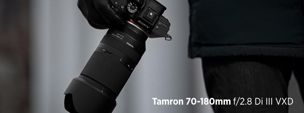 Itt a Tamron 70-180mm f/2.8 Di III VXD