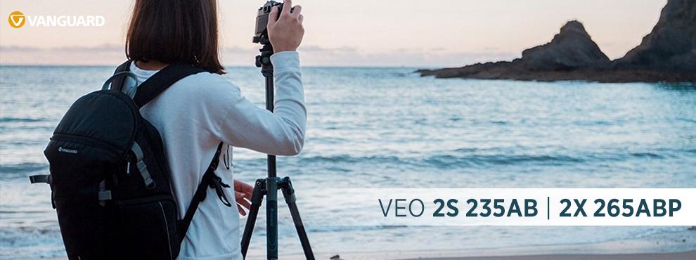 Vanguard Veo 2s 235AB és 2x 265ABP – Utazó állványok minden helyzethez