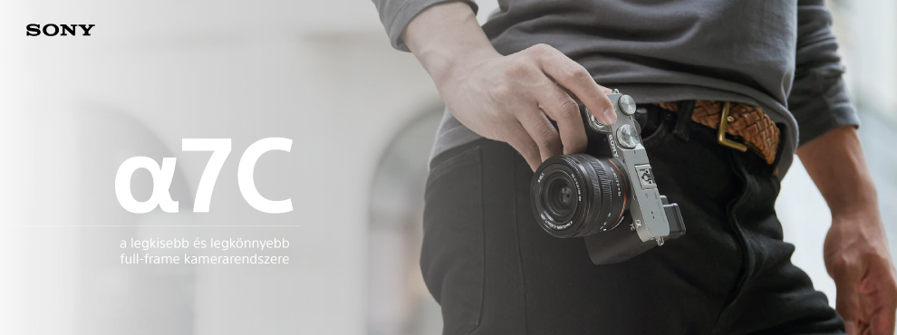 A Sony bemutatta új Alpha 7C fényképezőgépét és új zoomobjektívjét