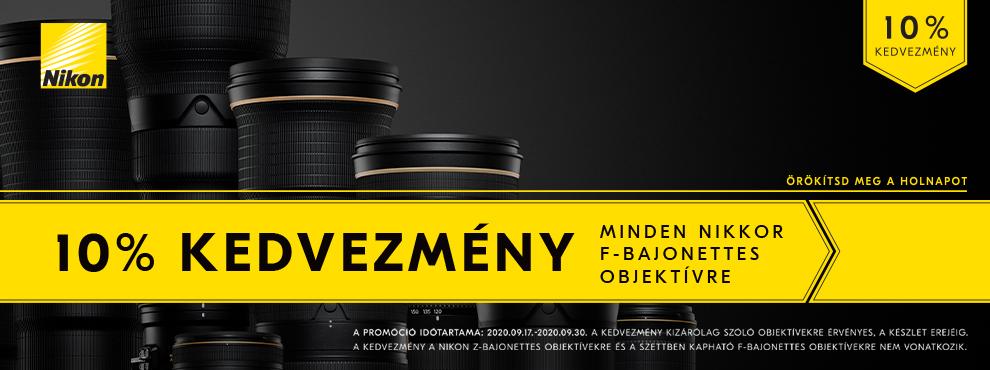 Nikon F-bajonett promóció
