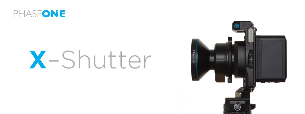 Phase One bejelentés: X-Shutter