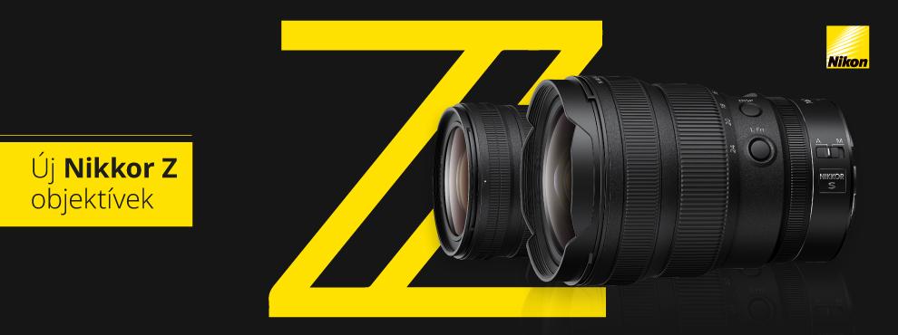 Új Nikon objektíveket jelentettek be