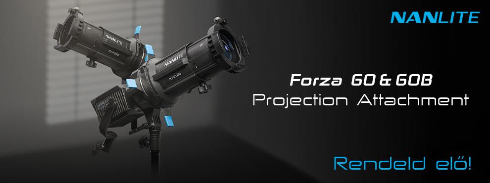 Nanlite vetítő spotok Forza 60 és 60B lámpákhoz
