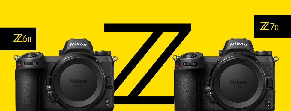 Itt a Nikon Z 6 II és Z 7 II!