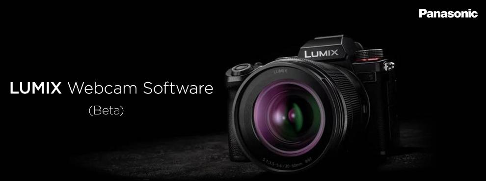 """Panasonic LUMIX Webcam Software (Beta)"""" Windows és Mac operációs rendszerekhez"""