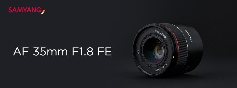 Ismerd meg az új Samyang AF 35mm F1.8 FE objektívet!