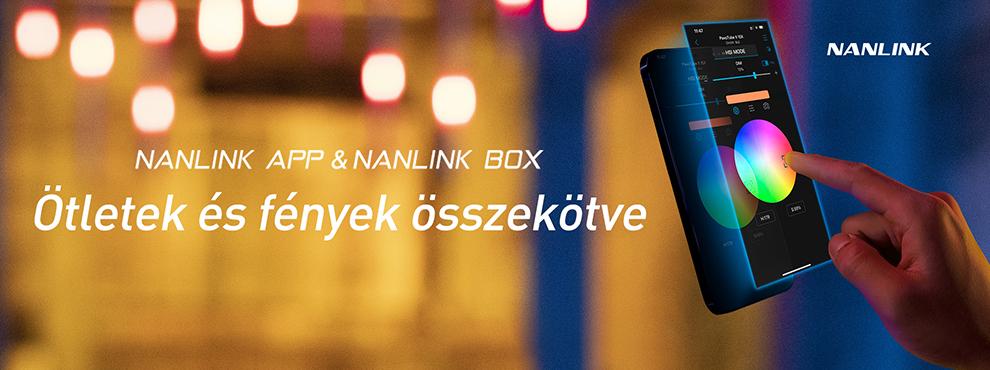 Új Nanlink app és vezérlő