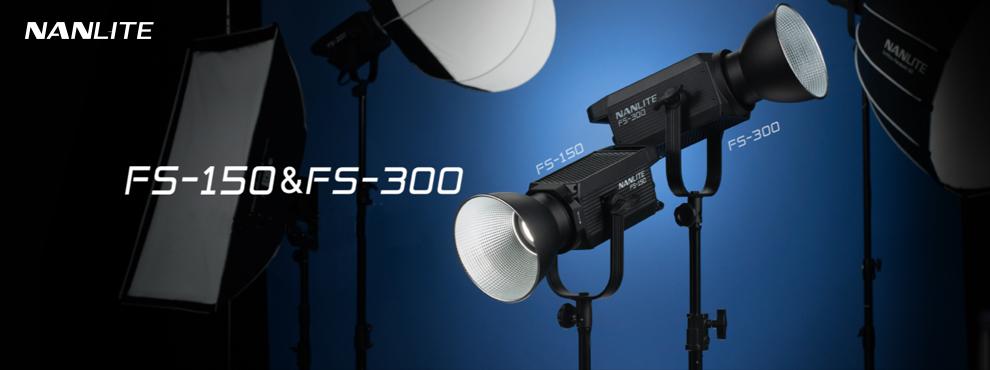Nanlite FS-150 és FS-300