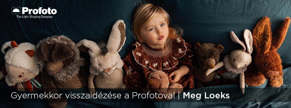 Gyermekkor visszaidézése a Profotoval - Meg Loeks