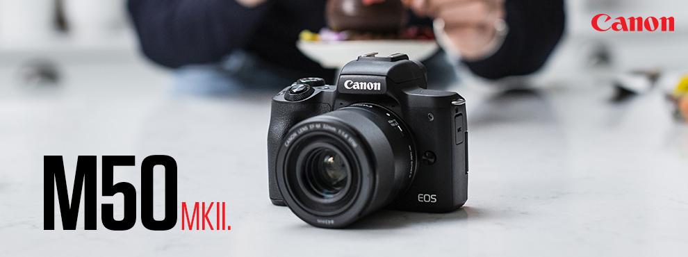 Canon EOS M50 MKII - Helyezd reflektorfénybe a szenvedélyed