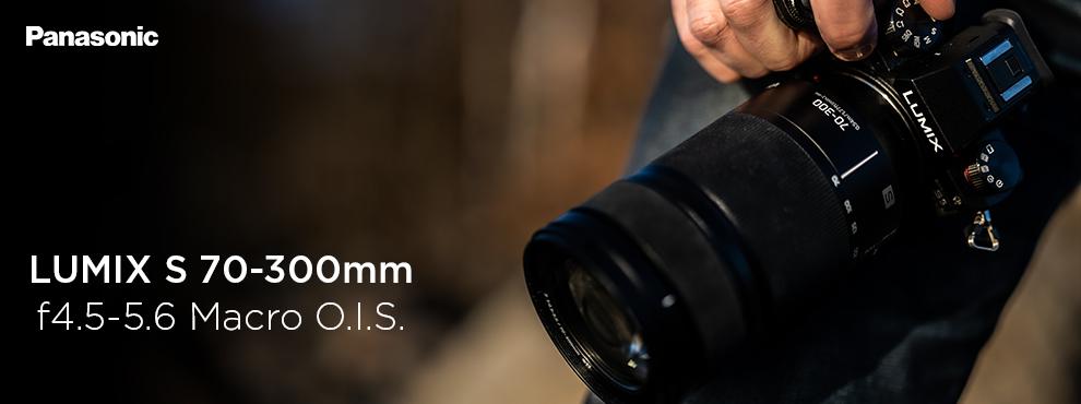 Új makró képességekkel rendelkező teleobjektív Lumix S sorozathoz