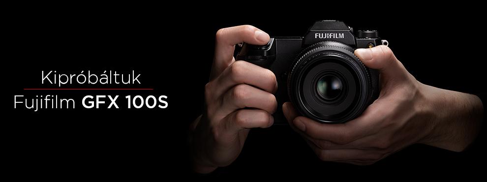 Kipróbáltuk: Fujifilm GFX 100s