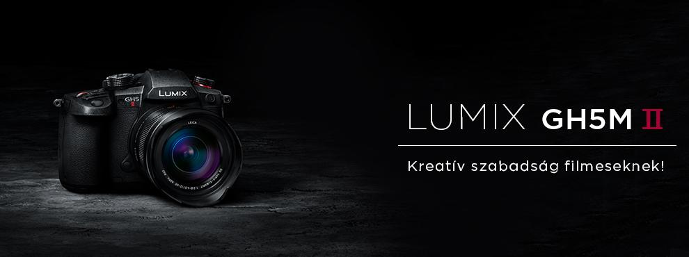 Új Panasonic fényképezőgépek: LUMIX GH5M2 és GH6