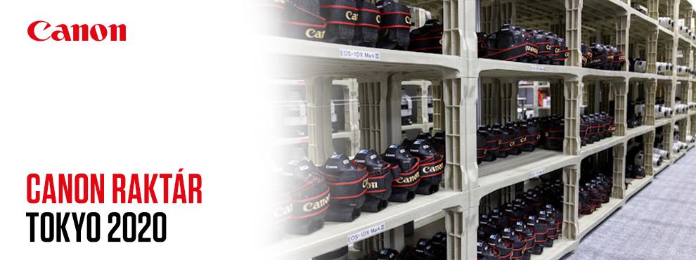 EXKLUZÍV: ritka betekintés a Canon termékeinek armadája az olimpián