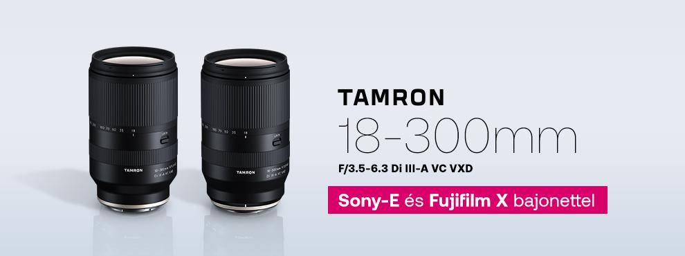 Tamron 18-300mm F/3.5-6.3 Di III-A VC VXD