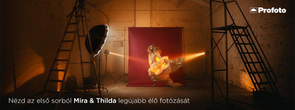 Nézd az első sorból Mira & Thilda legújabb élő fotózását