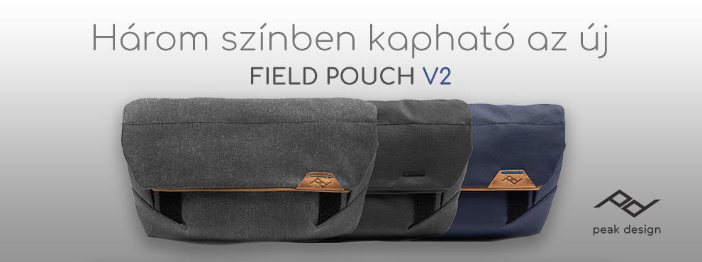 A Peak Design nagyot újított - Field Pouch V2